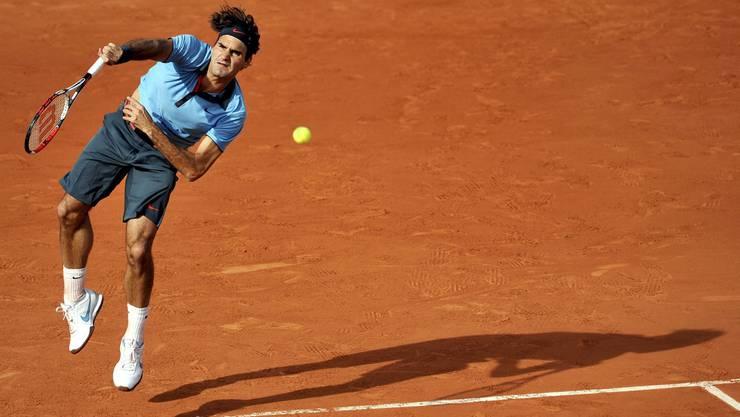 Roger Federer sicherte sich den Final-Einzug in extremis.