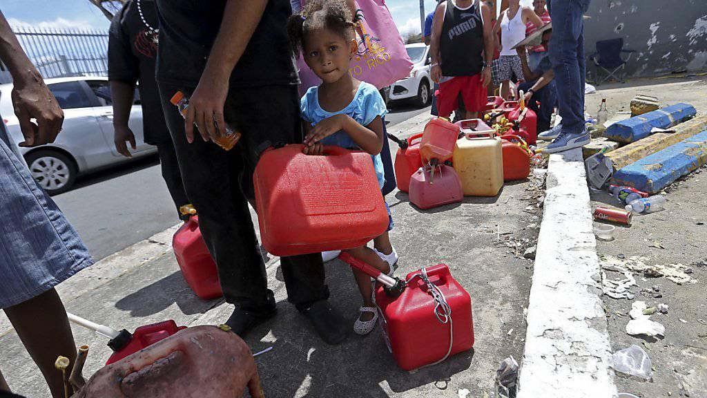 """""""Humanitäre Katastrophe"""": Der Gouverneur des sturmgeschädigten US-Aussengebiets Puerto Rico hofft auf rasche Hilfe aus den USA."""