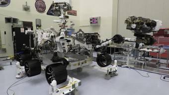 """Der Mars-Rover """"Perseverance"""" wäre startklar, nur seine Trägerrakete ist noch nicht fit. Der Start wurde erneut verschoben - auf frühestens Ende Juli mit Zeitfenster bis Mitte August. (Bild Nasa)"""
