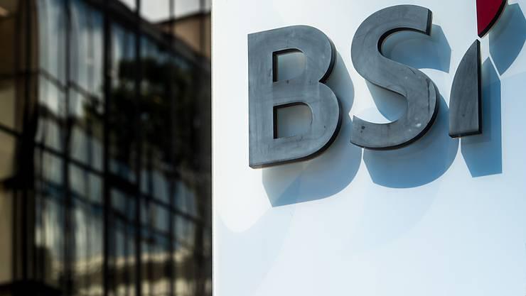 Steht vor einem Besitzerwechsel: Die Privatbank BSI. (Archivbild).