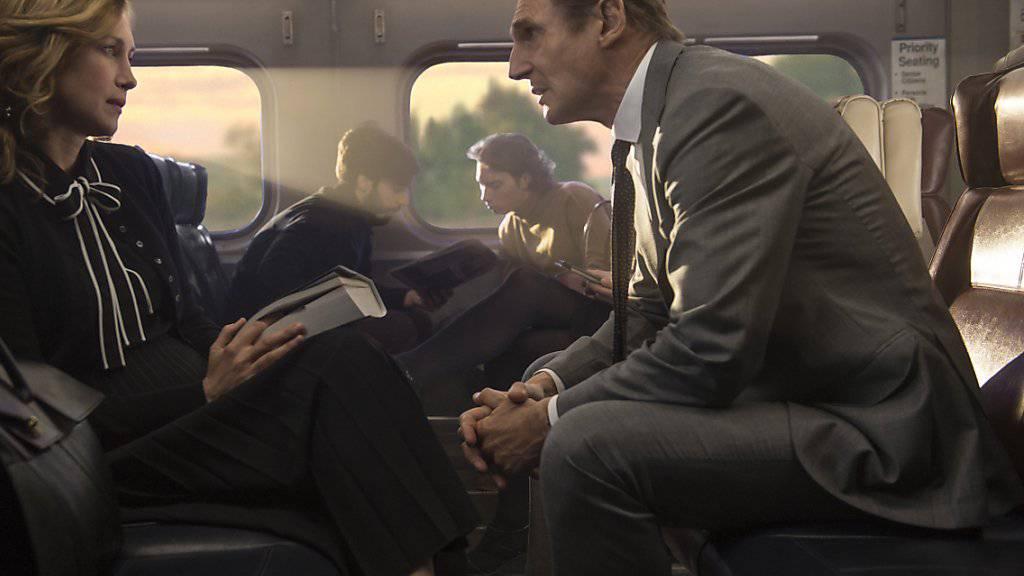 Der Schauspieler Liam Neeson (rechts) hat sein früheres Verhalten in einem Interview bedauert. (Archivbild)