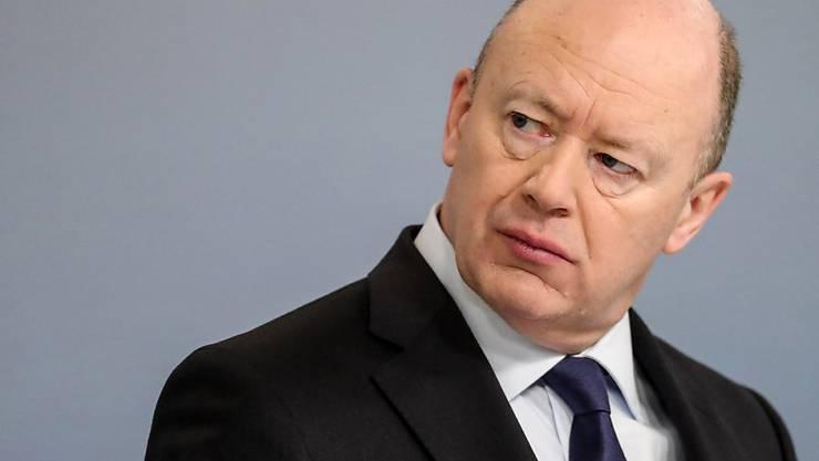 Seit 2015 Chef der Deutschen Bank: der Brite John Cryan. (Archivbild)