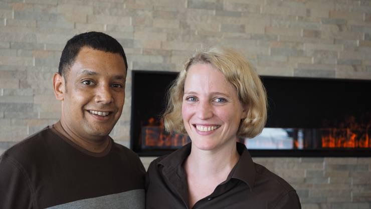 Stein, 29. Januar: Serge Güntert und Corinne Siegfried, die Pächter des «Felsen» schliessen das Restaurant, weil die Gäste fehlen.