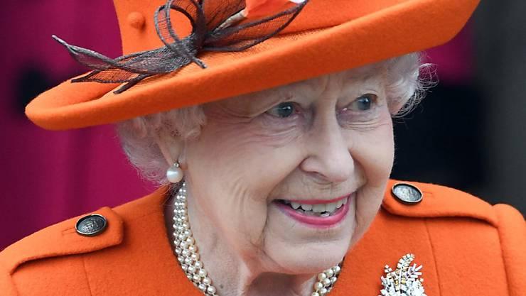 Die Queen gibt nur selten Interviews - die BBC hatte nun doch die Ehre (in einer Aufnahme vom 25. Dezember 2017 anlässlich eines Weihnachtsgottesdienstes).