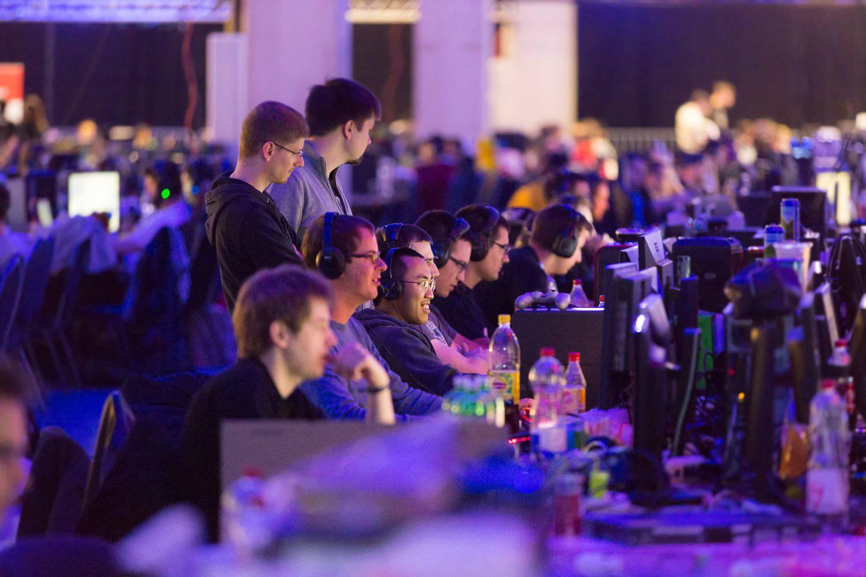 Rund 700 Gamer werden in St.Gallen um Preisgelder und Sachpreise kämpfen. (Bild: zVg)