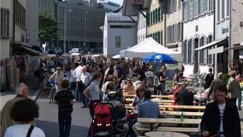 Letztes Jahr hiess es noch «Rain putzt raus» (im Bild), am Samstag findet das Fest unter dem Namen «MediterRain Market» statt.