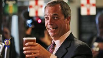 Nigel Farage geniesst unter den EU-Gegner unbestritten einen gewissen Kult-Status. (Archiv)