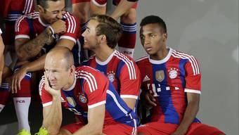 Egal wer spielt – auch auf der Bayern-Ersatzbank tummeln sich Stars wie hier Robben oder Götze.
