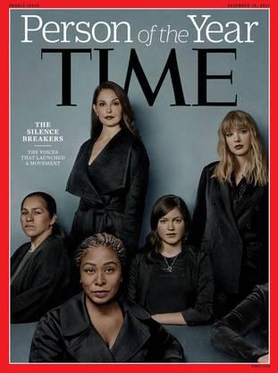 Auf die Titelseite der aktuellen Ausgabe setzte die Zeitschrift Frauen wie Schauspielerin Ashley Judd, Sängerin Taylor Swift und die Software-Entwicklerin Susan Fowler.