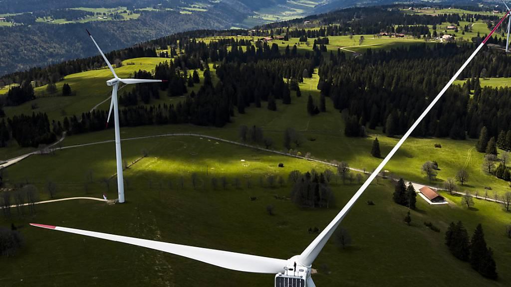2019 war ein Rekordjahr für Schweizer Windparks