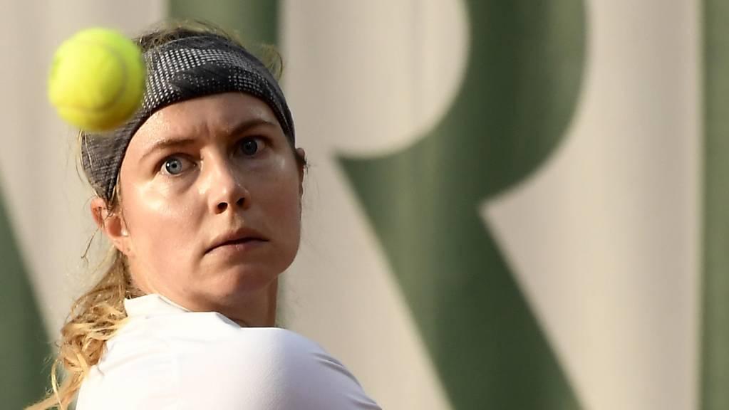 Stefanie Vögele verliert in Bogota gegen die Juniorinnen-Siegerin des US Open 2019.