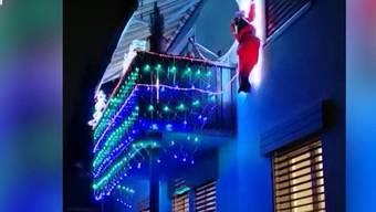 Knatsch um blinkende Weihnachtsdekoration: So berichtet TeleM1.
