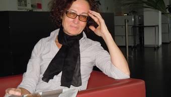 Galerieleiterin Drahu Kohout freut sich auf künftige Ausstellungen. EF.