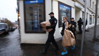Grossrazzien in Deutschland gegen salafistische Gruppierung (15. November 2016)