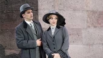 Rolf Sommer als Edgar Beane im Musical «Titanic». Bad Hersfelder Festspiele/ Klaus Lefebvre