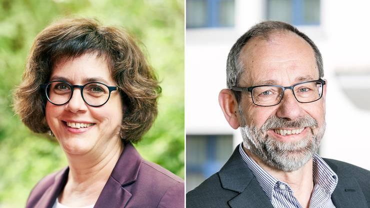 Bettina Lutz Güttler oder Peter Stucki: er wird neuer Gemeindeammann?