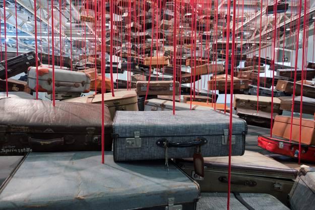 Art Unlimited: «Accumulation: Searching for Destination» von Chiharu Shiota