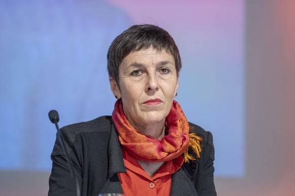 Mögliche Präsidiums-Nachfolge von Levrat: Barbara Gysi.