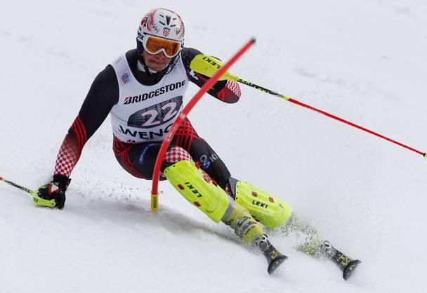 Ivica Kostelic brach in Aspen mit einem Slalomsieg mit der Startnummer 64 ins Weltcup-Establishment ein.