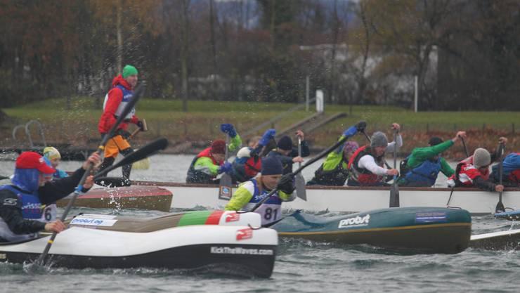 Start zum ersten Wintercuprennen