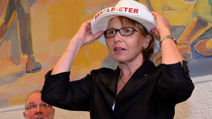 Marianne Hollinger ist neue Präsidentin des Baselbieter Landrats.