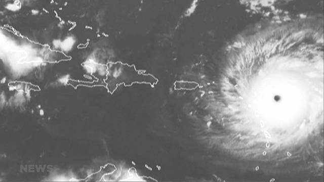 Flucht vor Hurrikan Irma