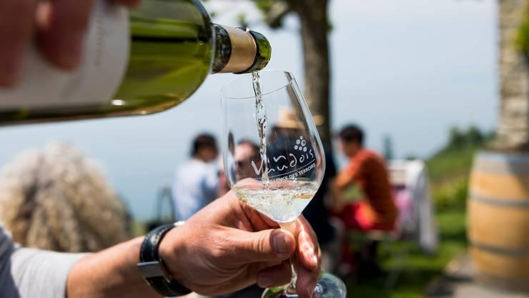 11 Liter Wein pro Kopf wurden im vergangen Jahr in der Schweiz produziert.