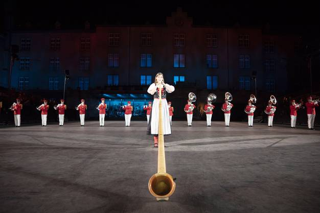 Basel Tattoo 2018: Swiss Army Central Band