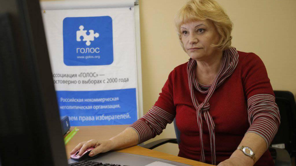 Sitzt offenbar in Russland fest: Gründerin der unabhängigen Wahlbeobachterorganisation Golos, Lilija Schibanowa. (Archivbild)