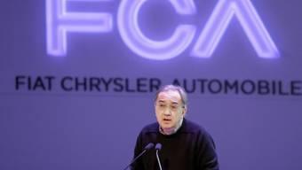 Fiat-Chef Sergio Marchionne (Archiv)