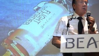 Ermittlungsbehörde BEA mit Informationen zu den gefundenen Flugschreibern