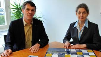 Donald Hasler und Doris Lehmann.