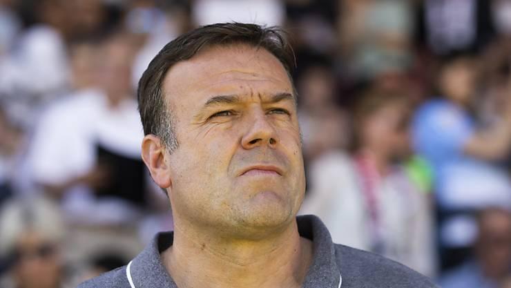 Seit 64 Partien ist Patrick Rahmen Trainer des FC Aarau