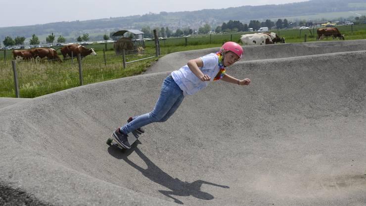 Nationaler Skateboarder Wettbewerb in Grenchen