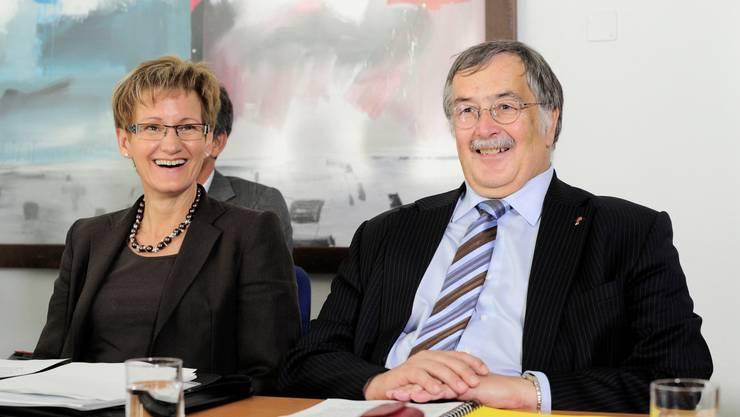 Sabine Pegoraro und Adrian Ballmer