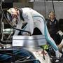 Lewis Hamilton steigt am Sonntag als fast sicherer Weltmeister ins Mercedes-Cockpit