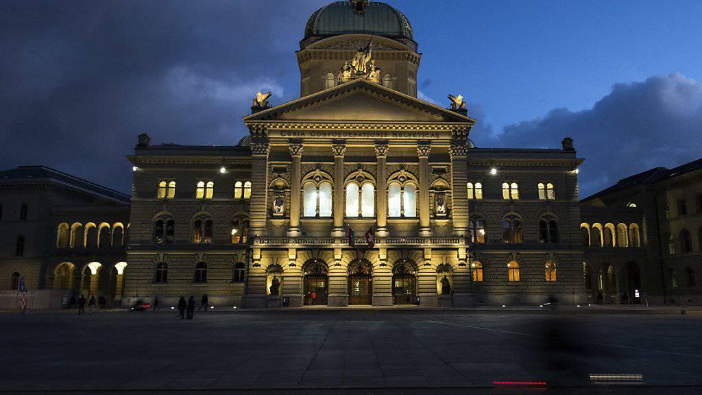 Die Geschäfte der letzten Session vor den Wahlen werden das Parlament bis in die Nacht hinein beschäftigen (Archivbild).