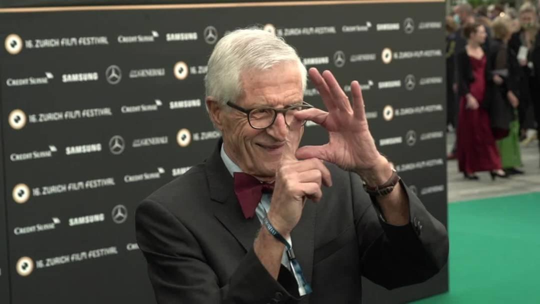 Rolf Lyssy mit Career Achievement Award ausgezeichnet
