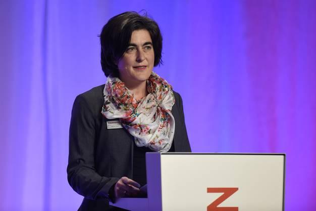 Sabine Hurni, Verwaltungsrätin der Raiffeisebank Lägern-Baregg,