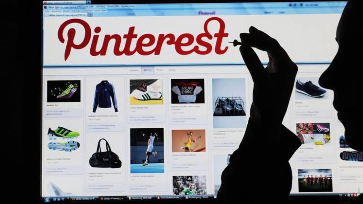 Die Fotoplattform Pinterest hat am Freitag ihre Unterlagen für einen Börsengang eingereicht. (Archivbild)