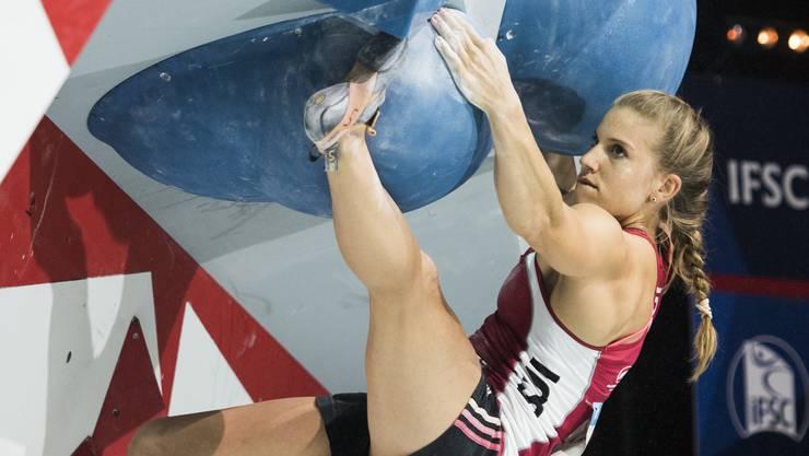 Im Final zeigte Petra Klingler eine weitere tolle und kämpferische Leistung.
