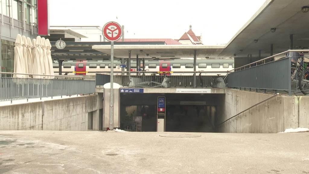 Facelifting: Umgestaltung Bahnhof Wil nimmt Fahrt auf