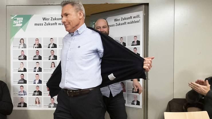 Der Berner SVP-Politiker Adrian Amstutz kandidiert im Herbst nicht mehr für den Nationalrat. (Archivbild)
