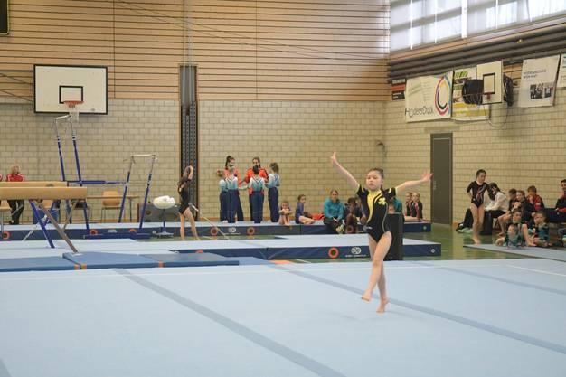 Kirsten vom Kutu Weiningen zeigte eine starke Leistung am Limmat-Cup.