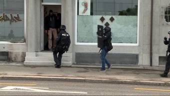 Im Juni 2017 kommt es in Solothurn aufgrund einer Terrordrohung zu einem Polizei-Grosseinsatz. Nun wurde festgestellt, dass es sich um einen Scherz handelte.