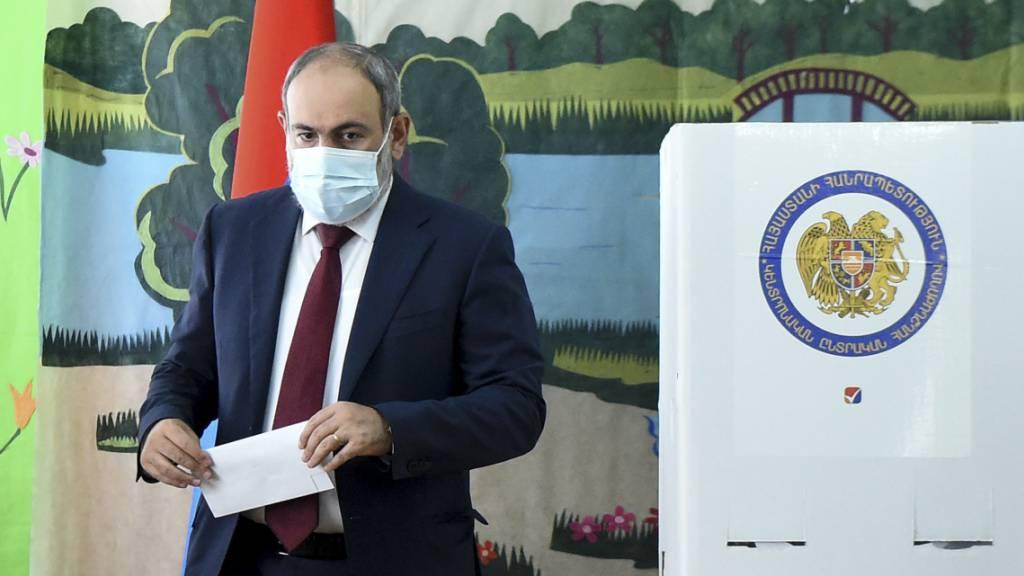 Wahl in Armenien: Regierungspartei und Opposition stärkste Kräfte