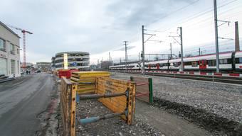 Der Kredit für die Industriestrasse (Foto) und die Verbindungsspange Buchs Nord kommt vors Volk.
