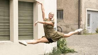 Tänzerin Sina Friedli kandidiert für die Grünen des Bezirks Kulm.