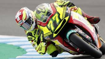 Endlich wieder einmal zurück in den Top 10: der Berner Moto2-Fahrer Dominique Aegerter