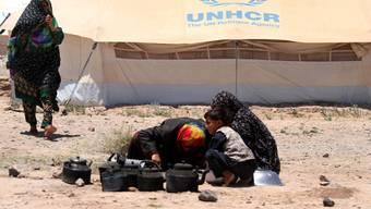 Die Zahl der Flüchtlinge ist einem Uno-Bericht zufolge im vergangenen Jahr auf ein Rekordhoch gestiegen. Ende 2018 gab es weltweit 70,8 Millionen Flüchtlinge, Vertriebene und Asylbewerber. (Symbolbild)